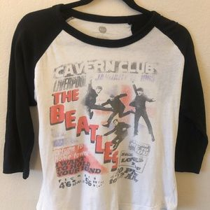 The Beatles Baseball Tee